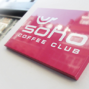 Soho Coffee Club Branding