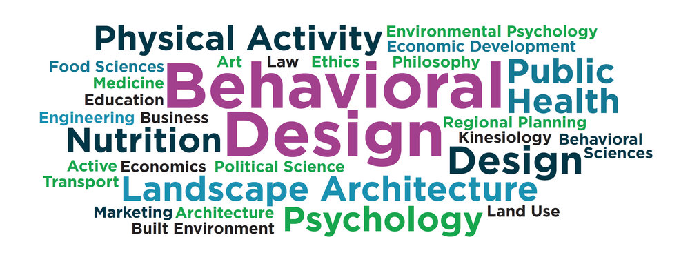 Examples of disciplines contributing to Behavioral Design. Image: NCCOR