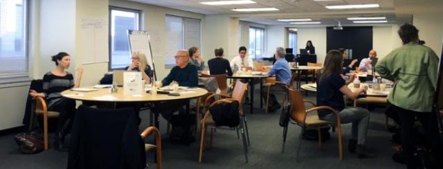 NCCOR Behavioral Design Workshop. Washington D.C. March, 2016. Image: NCCOR