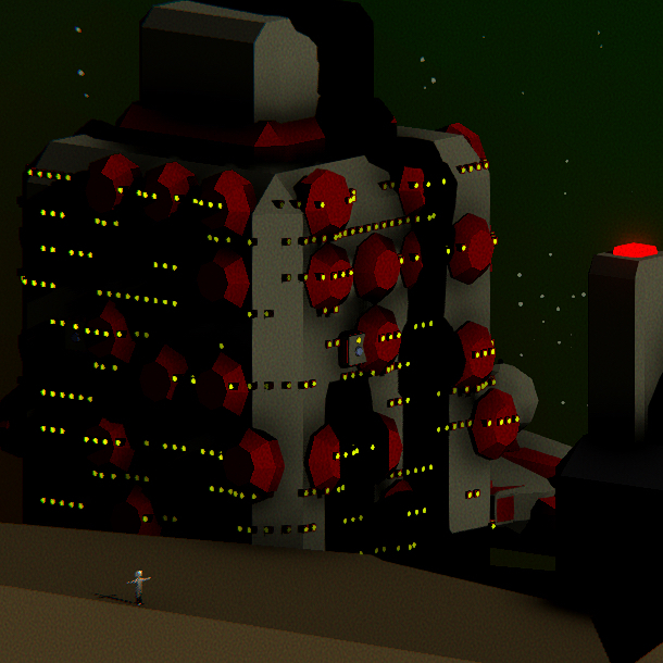 Getting the hard point logic done so I can get on with some interiors #indie game #indiegamedev #gaming #gamedev