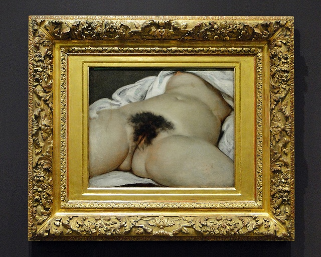 Gustave Courbet (1819-1877)   The Origin of the World   1866   Oil on canvas