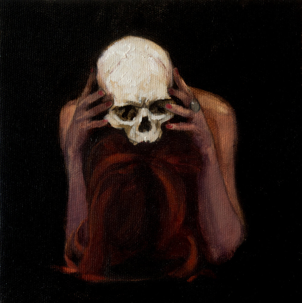BE BRAVE l oil on linen l 25 x 25 cm l 2015