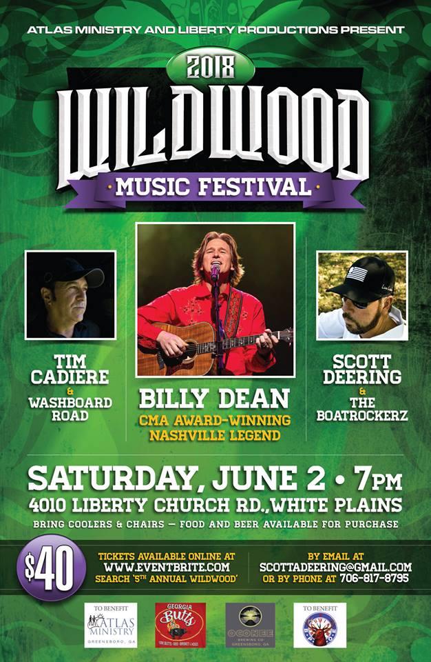 Wildwood Music Festival 2018   LakeOconeeLife.com