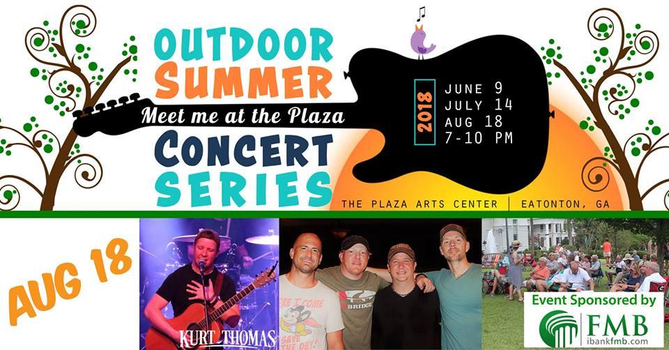 Outdoor Concert The Plaza |LakeOconeeLife.com