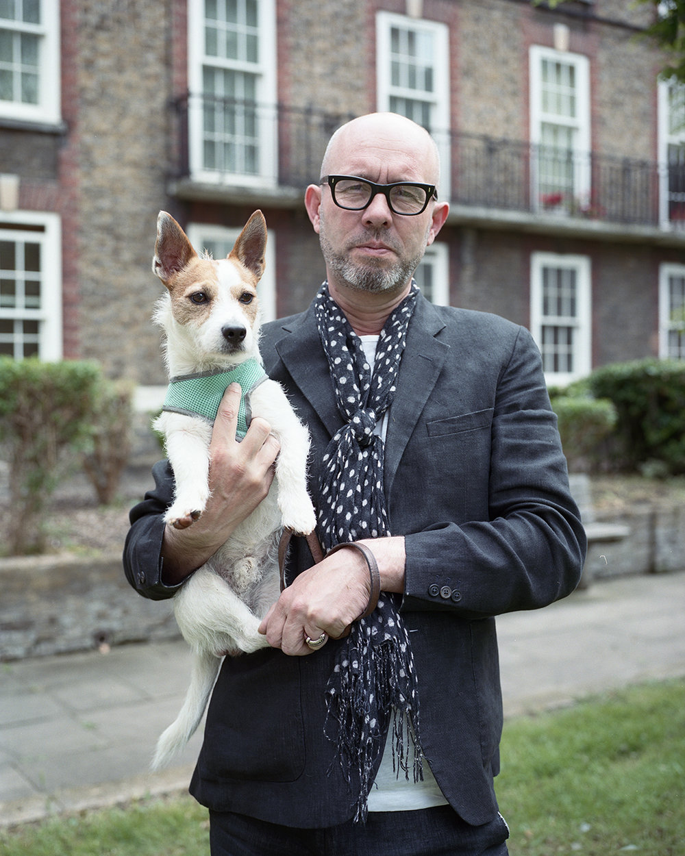 London men with their dogs for Men In This Town