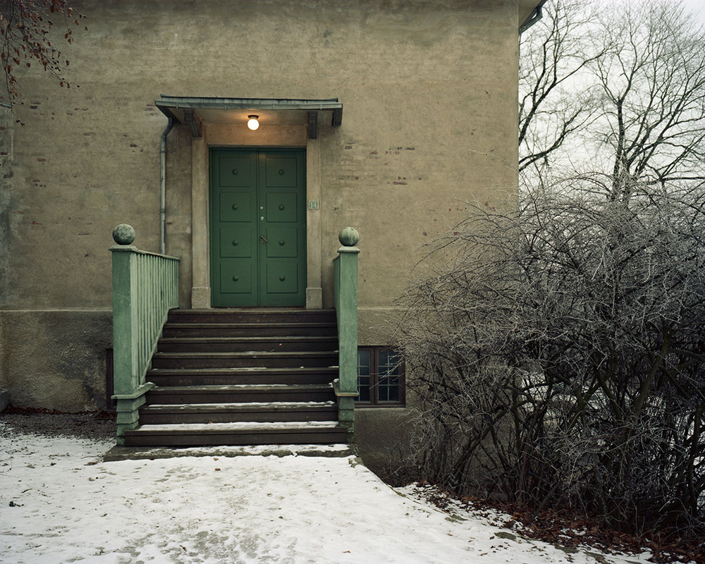 Edvard Munch's atelier at Ekely