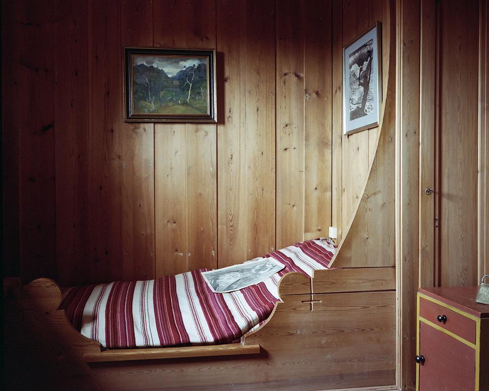 Harald Sæverud's bed