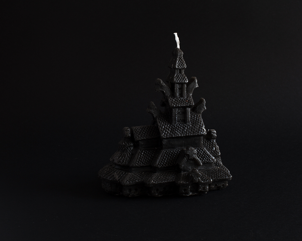 Stave church candle