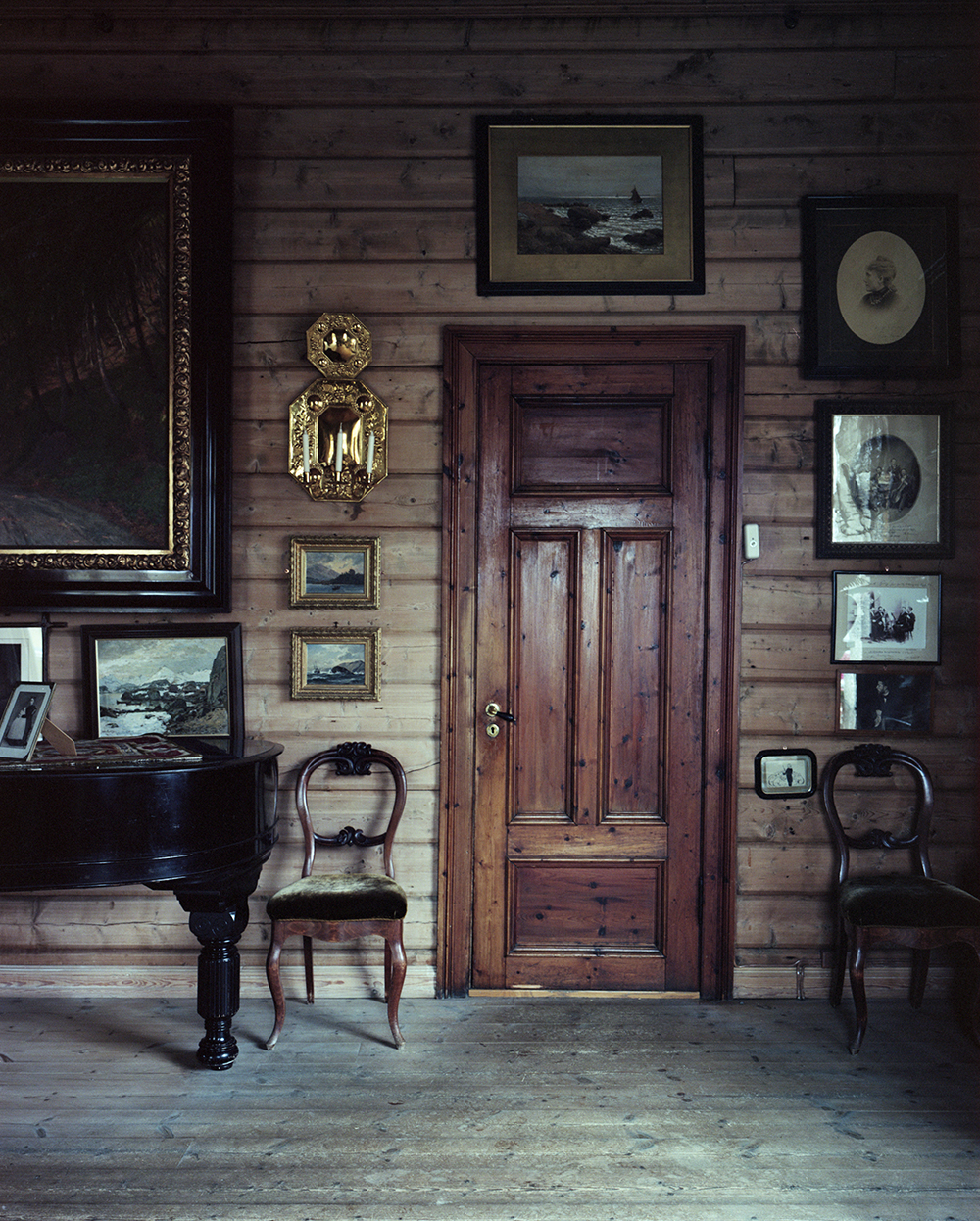 Edvard Grieg's living room