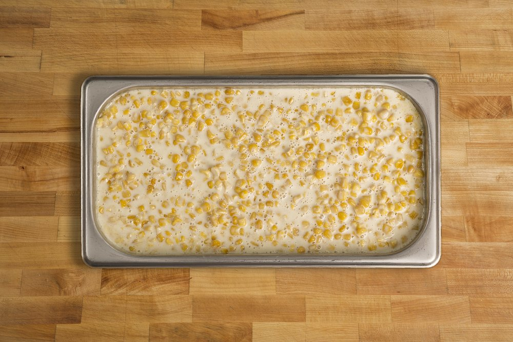 Cream Corn in a Beschemel Sauce
