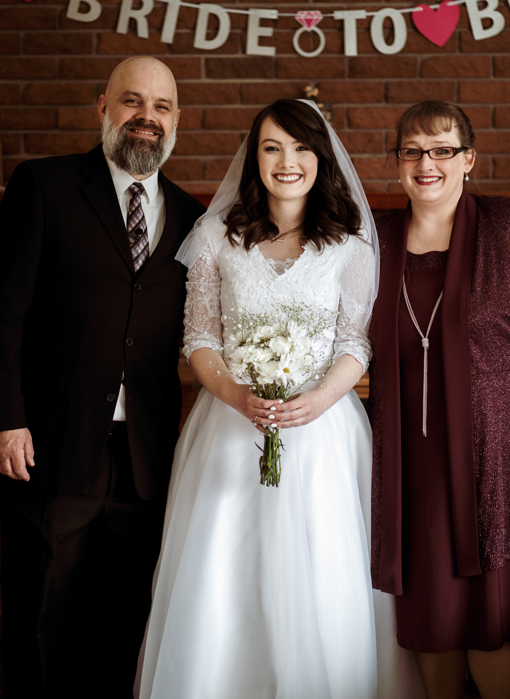 My parents are the best. They also clean up really nice.