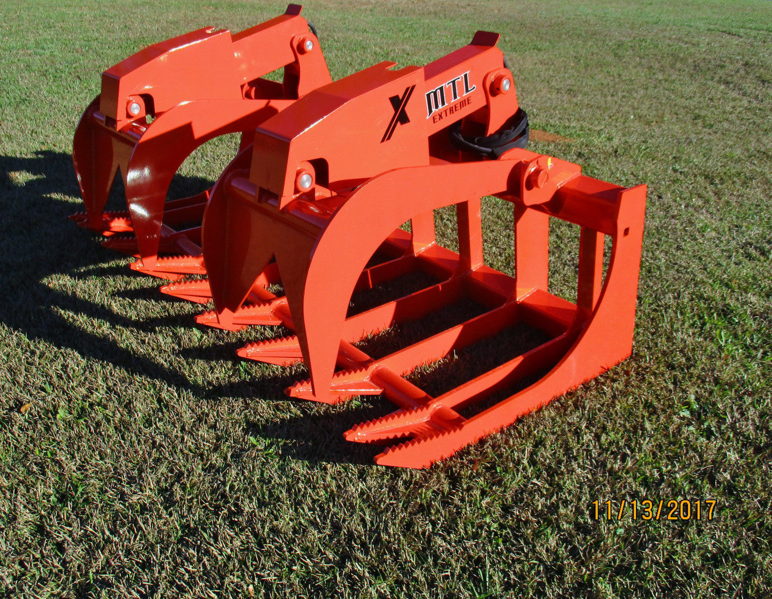 MTL X Series Root Grapple Bucket Attachments - multiple sizes available —  MTL Attachments