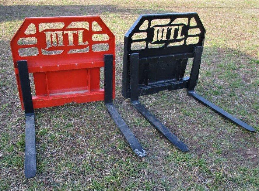 Toro Dingo Mini Skid Steer 42 Quick Attach Forklift Attachment