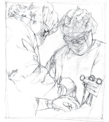 Portrait for physician's brochure.