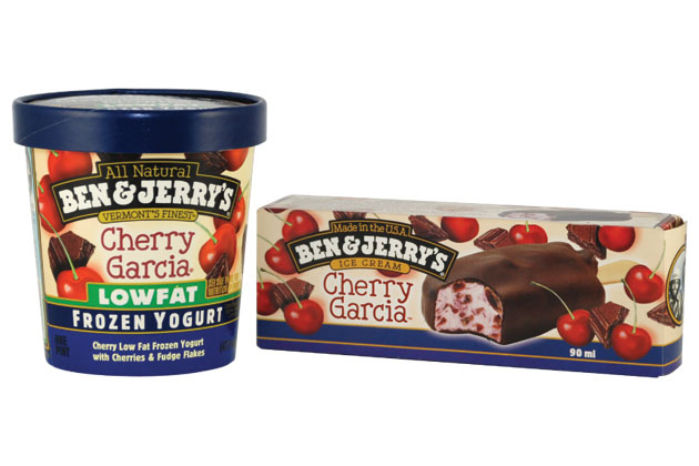 Cherry Garcia packaging