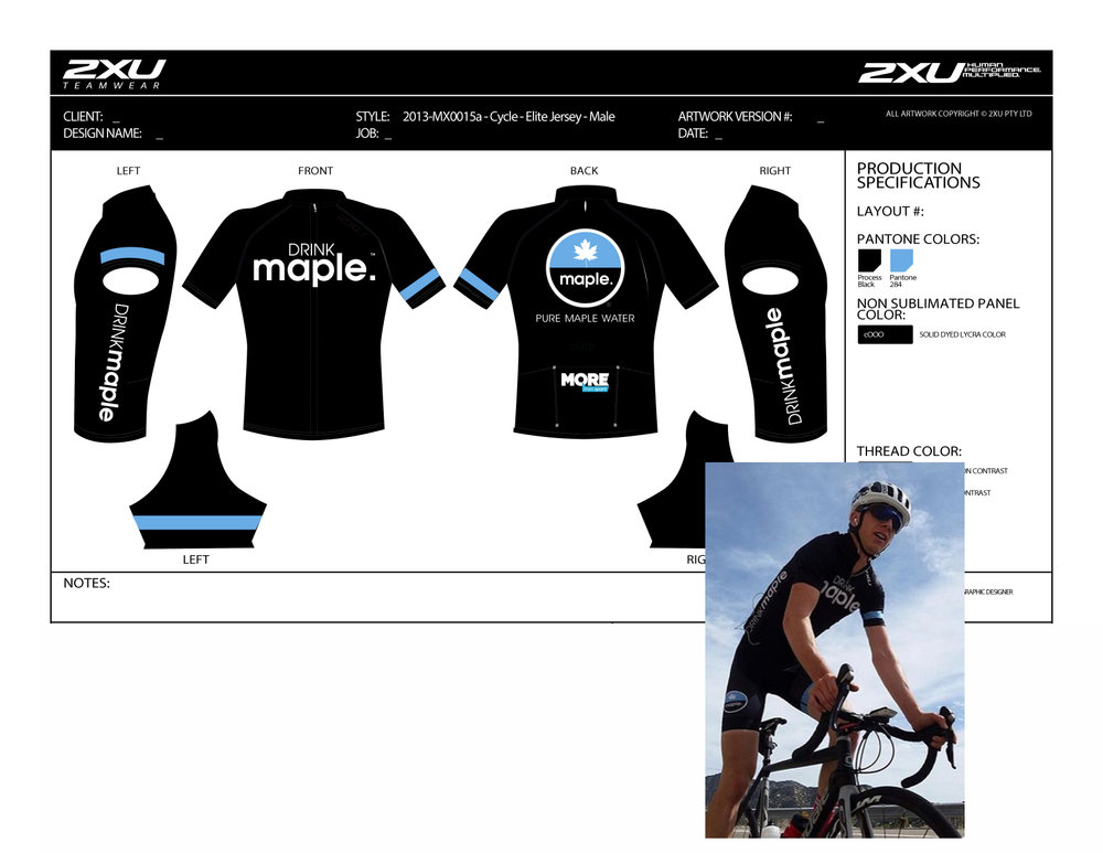 DRINKmaple bicycle kit