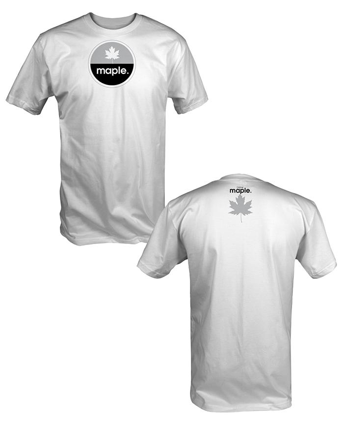 DRINKmaple tee shirt