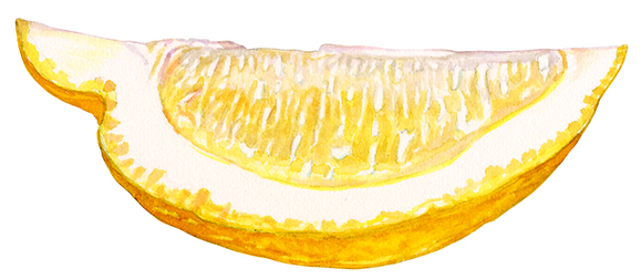 Lemon for yogurt packaging