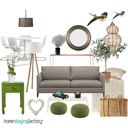Mood boards provide inspiration and intend to evoke or project a particular style or concept. I wanted people to use the Target home furnishing section as a source of inspiration instead of going elsewhere for ideas.