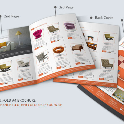 Brochures in furniture stores are a great asset because it showcases a room and gives a list of the items shown. I wanted to create an online version on Targets website to make it easier for users to find items they see.