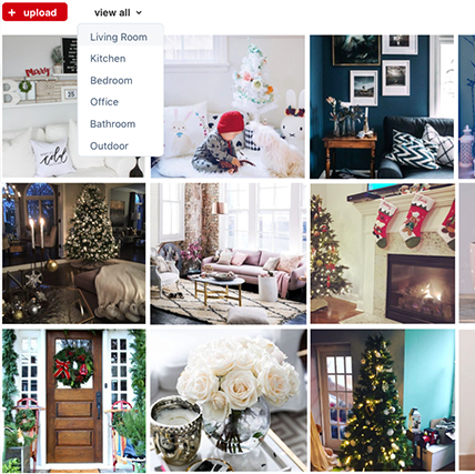 Using this methodology, I created a unique hashtag that was specific to items purchased at target. This feed would not only be seen by users on Instagram, but would live on the Target website to serve as another source of inspiration.