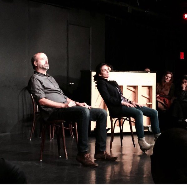 Scott Adsit and Tina Fey Improvising at the Upright Citizens Brigade