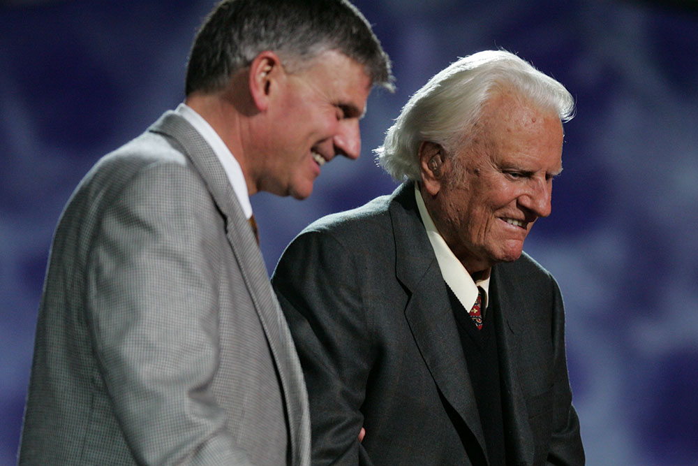 Franklin and Billy Graham of Samaritan's Purse
