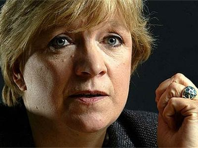 Polly Toynbee, The UK's  Guardian  newspaper columnist