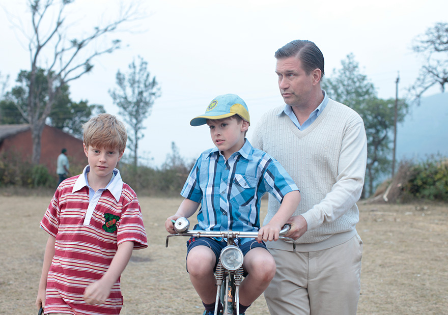 The Least of These  portrays Staines, played by Stephen Baldwin, and his two sons, Philip and Timothy, before their murders in 1999. Photo submitted by Victor Abraham.