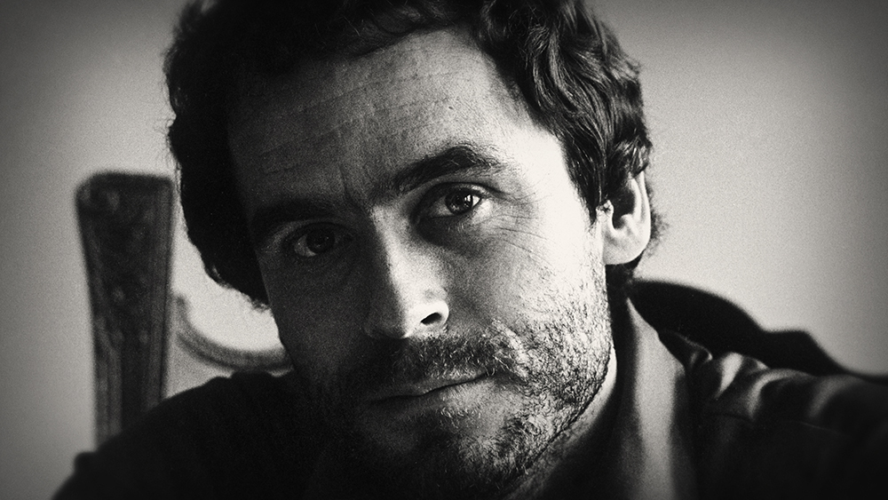 Ted Bundy, as seen on Netflix.
