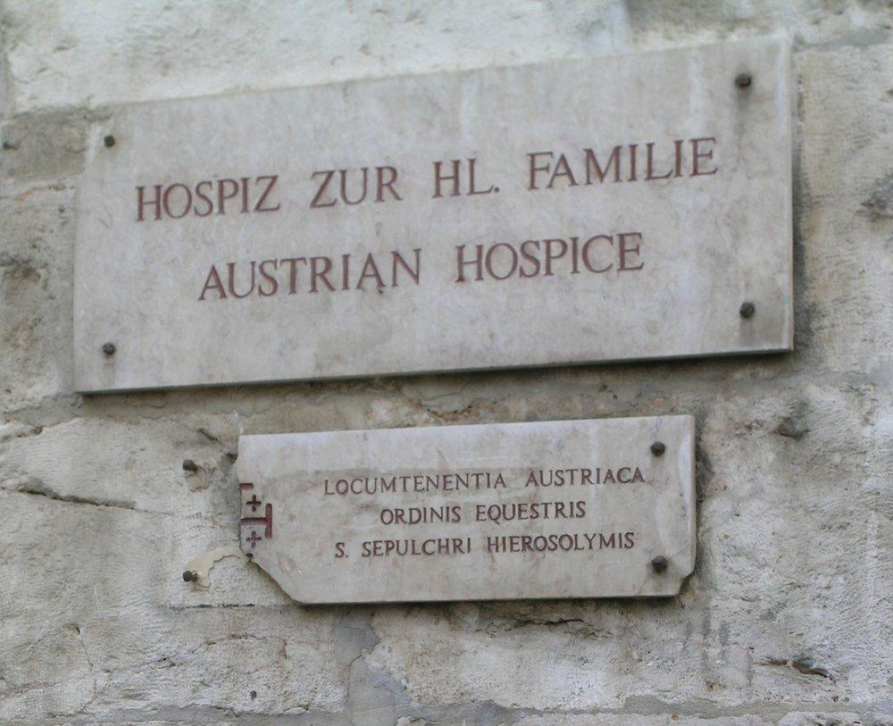 austrian hospice jerusalem old city