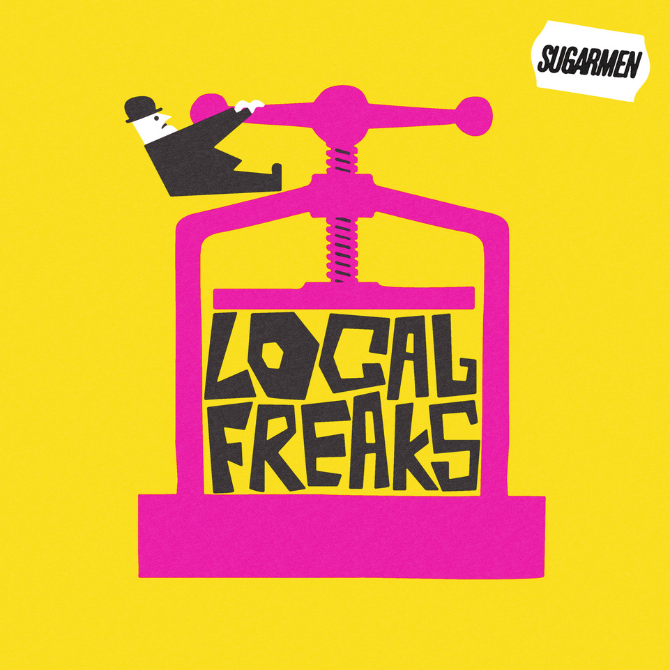 Sugarmen - Local Freaks You can pre-order Sugarmen's debut album, 'Local Freaks', ahead of its full release on the 6th October 2017. Click the above artwork to become a Local Freak yourself.