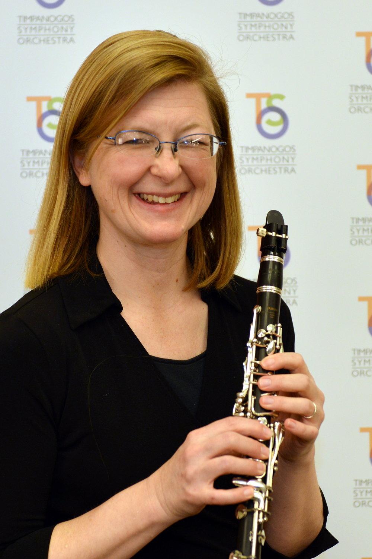 Amy Gabbitas , E-flat Clarinet