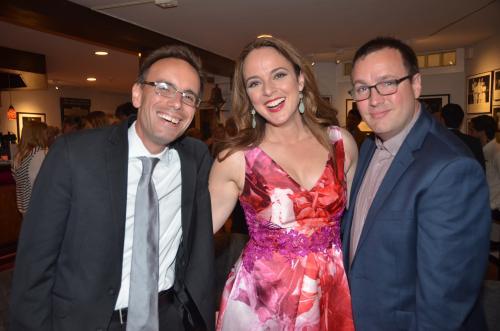 Tedd Firth, Melissa Errico and Robbie Rozelle