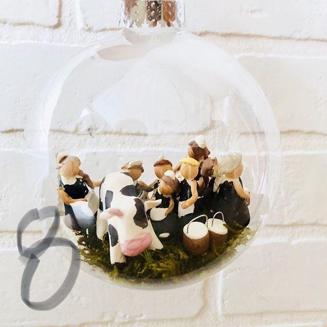 8 maids a milking 🐄 🥛🥛🥛🥛🥛🥛🥛🥛 #12daysofchristmas #maidsamilking #oraments #christmas #christmasdecor