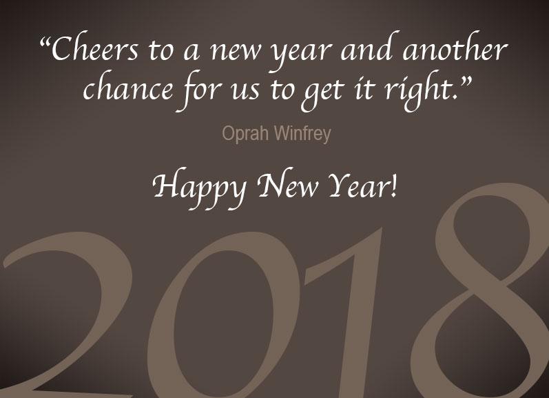 Happy 2018 Everyone!!!
