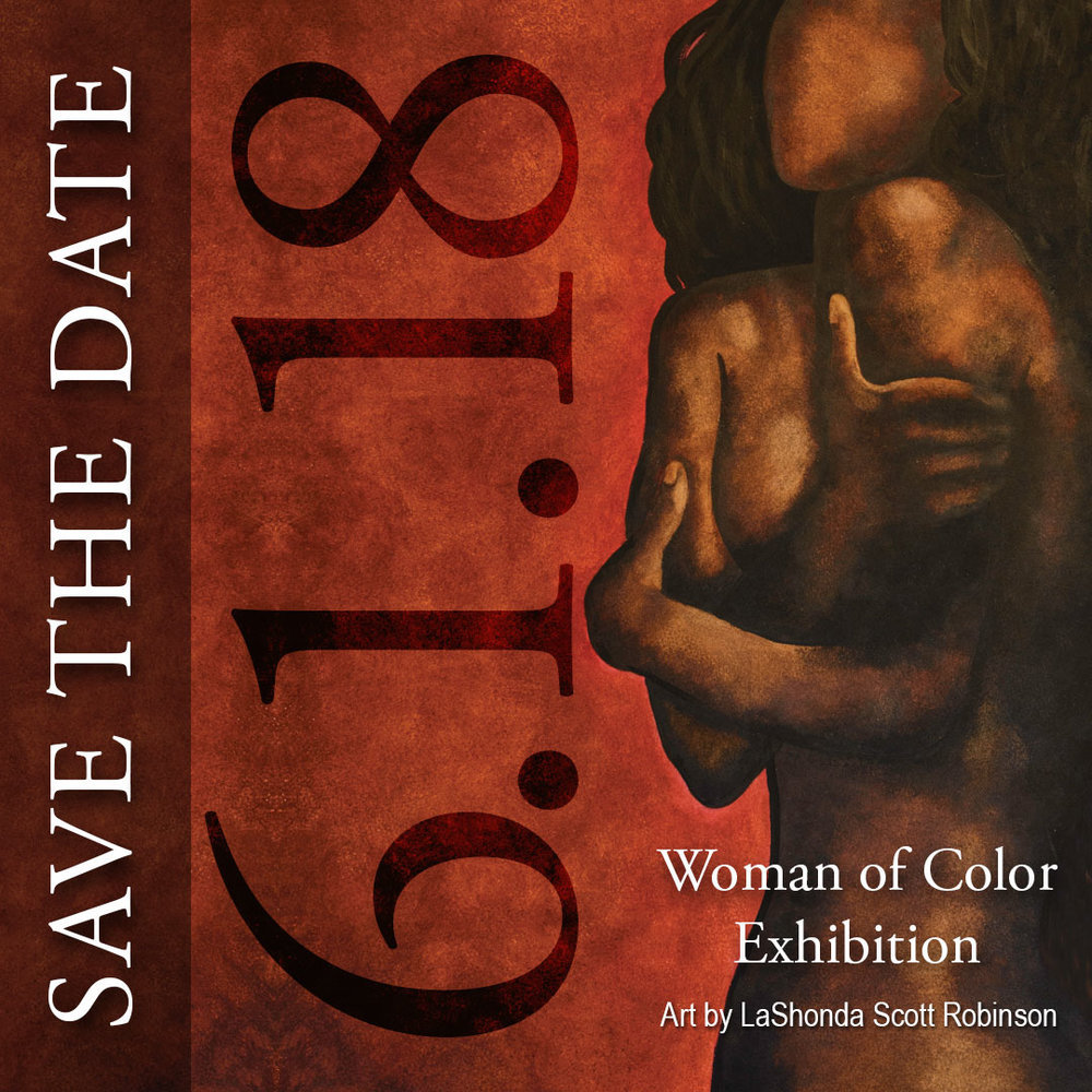 "Save the Date!  Friday, June 1st, is the opening reception of my solo art exhibit ""Woman of Color"" at the Dinah Washington Cultural Arts Center in downtown Tuscaloosa. It is free and open to the public 5:00pm - 8:00pm. So come out and support me! I hope to see you all there!"