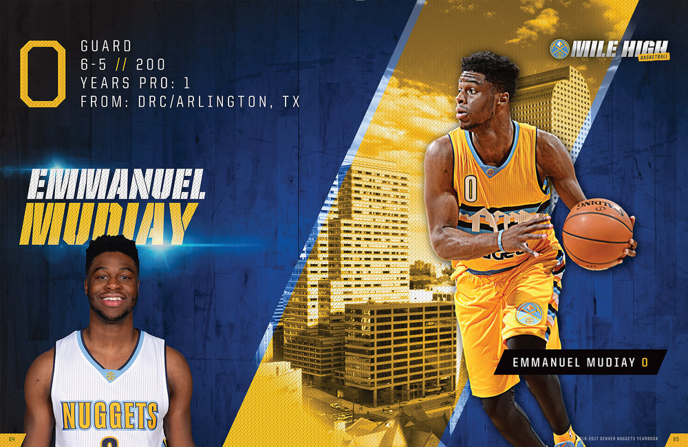 Denver Nuggets Yearbook