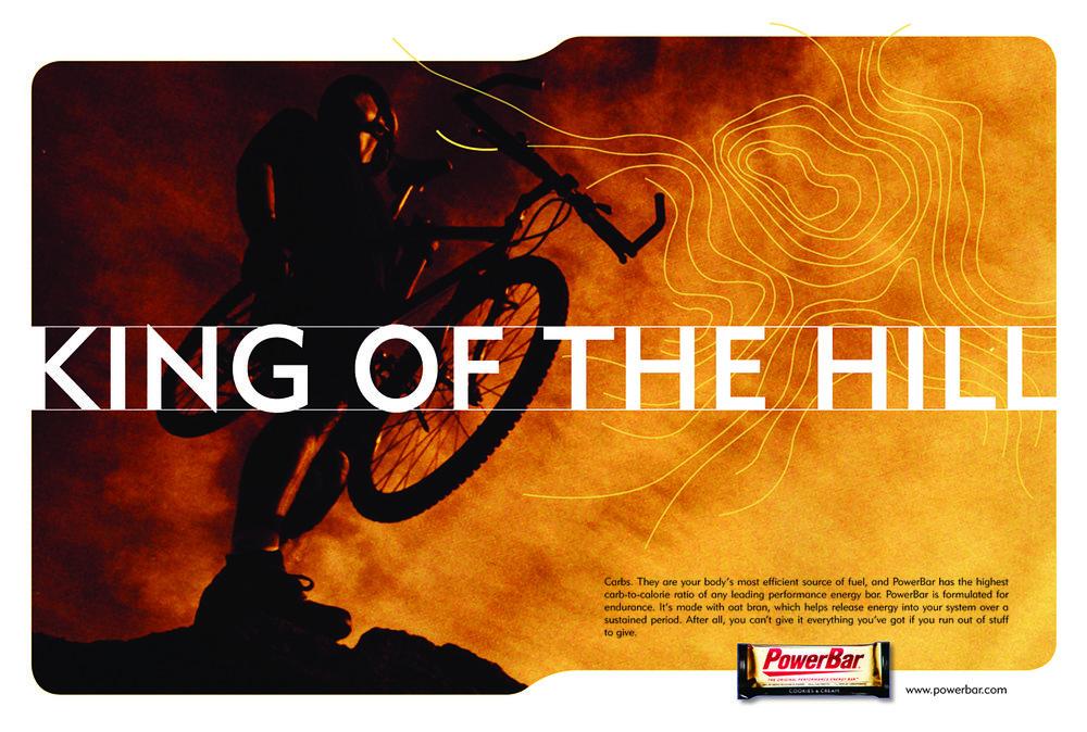 PowerBar Magazine Ad
