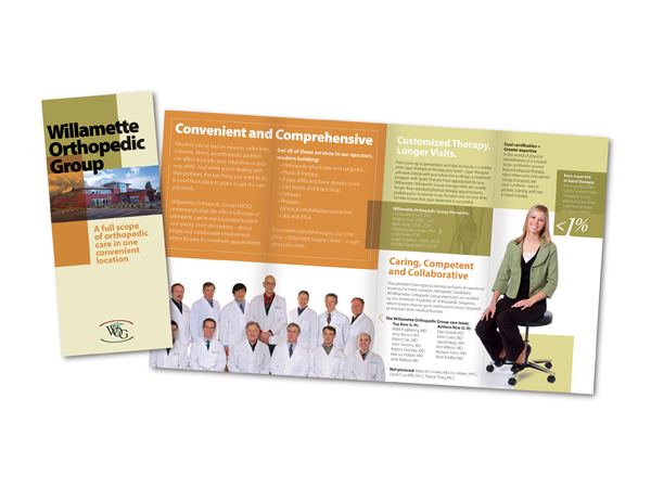 Willamette Orthopedic Group Brochure