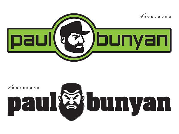 Paul Bunyan Lumber Logo