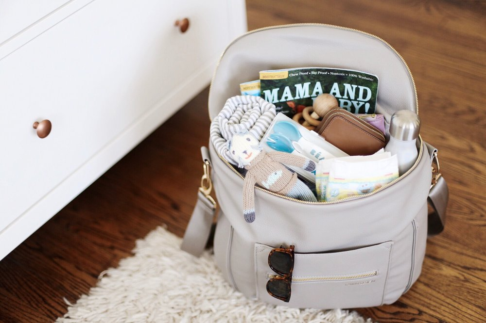 What's In My Diaper Bag : Viklund Made Blog // Viklund Made Brittany Viklund Watercolor Artist Portrait Painter Brand Photographer Interior Styling Motherhood Blog Oklahoma City Custom Wedding Gift Illustration