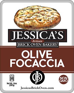 Jessica's Brick Oven_Olive Focaccia