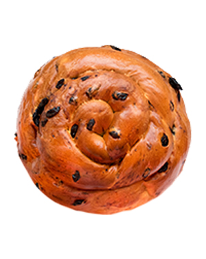 CHALLAH ROUND W/ RAISIN (TEST)