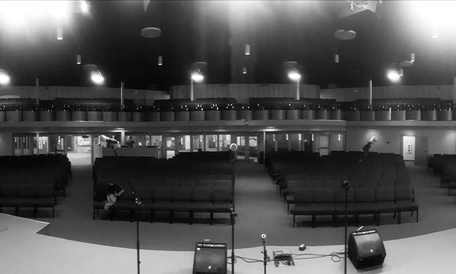 Sound check on the go for tonight in Winkler! 7:30 at the EMMC. #BCHB #winkler