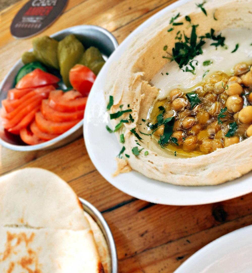 Fattoush Hummus
