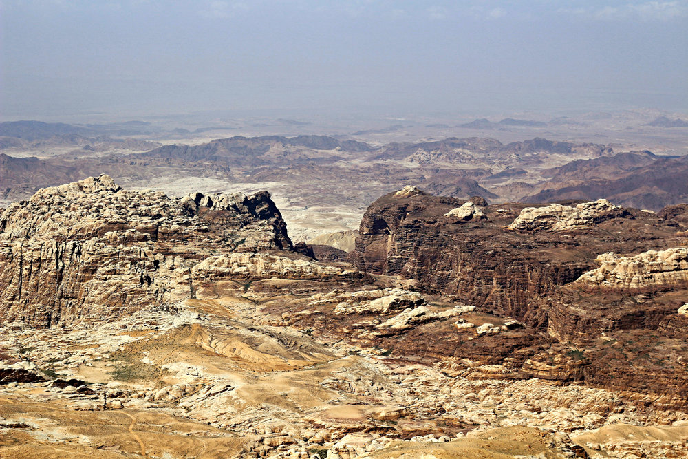 Petra from the Road Above