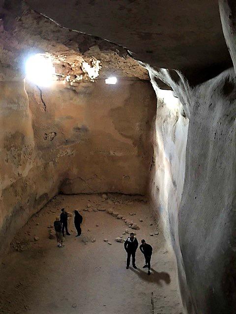 Southern Water Cistern at Masada