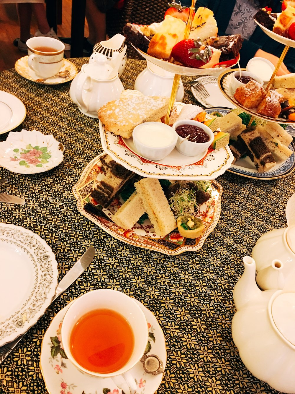 Afternoon tea at Venus Sophia