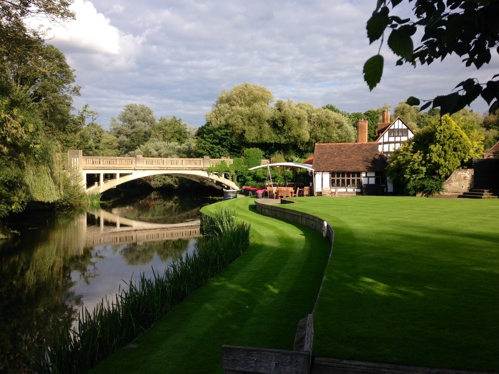 Le Talbooth Dedham Essex eating out in essex things to do in essex